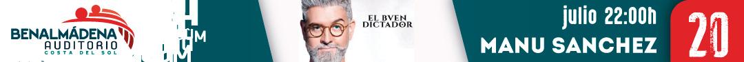 Actuación Manu Sánchez 'El buen dictador'