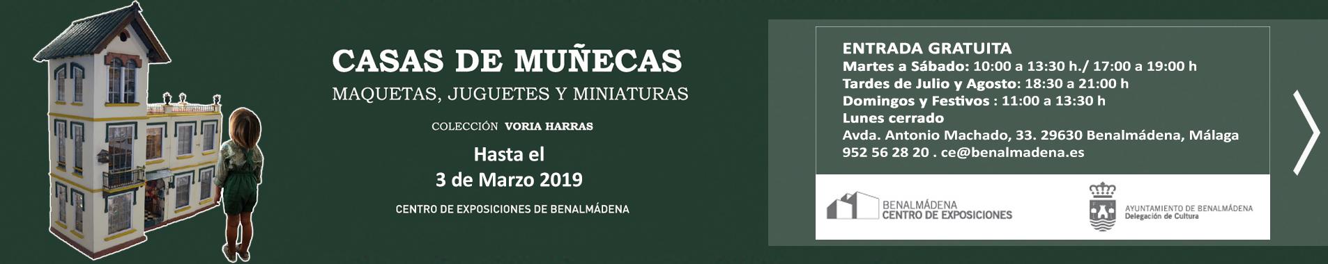 Exposición Casas de Muñecas