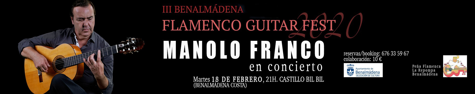 Concierto Manolo Franco