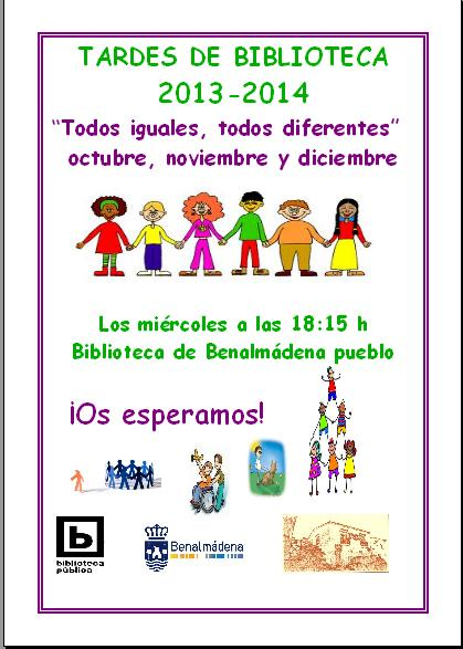 TARDES DE BIBLIOTECA 2013-2014