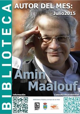 AUTOR DEL MES DE JULIO: AMIN MAALOUF