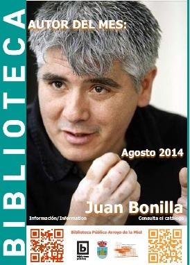 AUTOR DEL MES DE AGOSTO: JUAN BONILLA