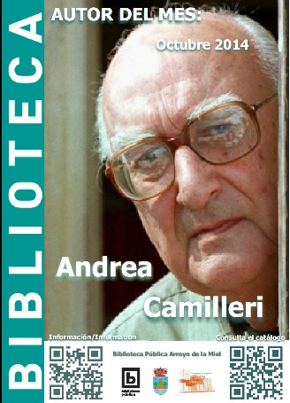 AUTOR DEL MES DE OCTUBRE: ANDREA CAMILLERI