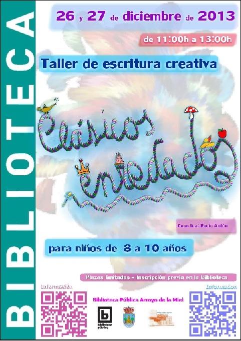 TALLER INFANTIL DE ESCRITURA CREATIVA