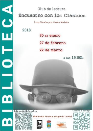 ENCUENTRO CON LOS CLÁSICOS. CLUB DE LECTURA