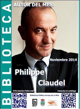 AUTOR DEL MES DE NOVIEMBRE: PHILIPPE CLAUDEL