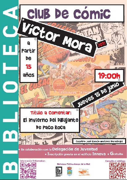 NUEVO CLUB DE LECTURA 'VICTOR MORA'