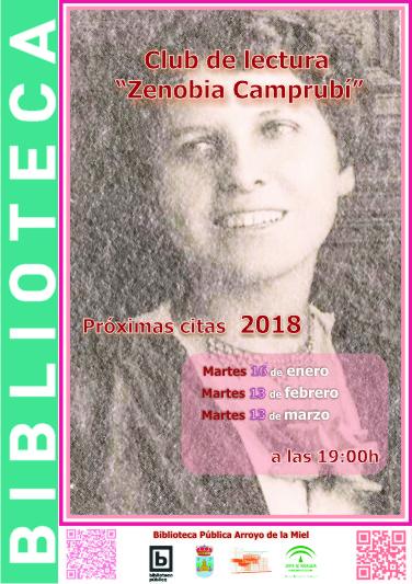 ZENOBIA CAMPRUBI. CLUB DE LECTURA