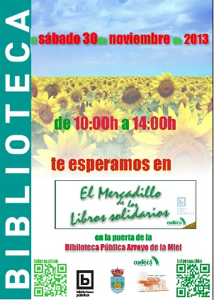 MERCADILLO DE LOS LIBROS SOLIDARIOS, EDICIÓN NAVIDEÑA