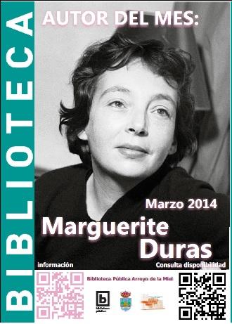 AUTOR DEL MES DE MARZO: MARGUERITE DURAS