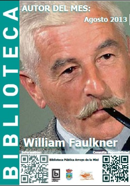 AUTOR DEL MES DE AGOSTO: WILLIAM FAULKNER