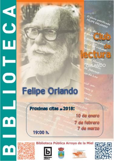 FELIPE ORLANDO. CLUB DE LECTURA