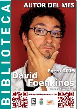 AUTOR DEL MES DE ENERO. DAVID FOENKINOS