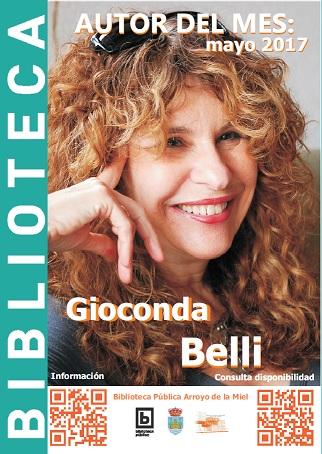 GIOCONDA BELLI. AUTOR DEL MES DE MAYO.