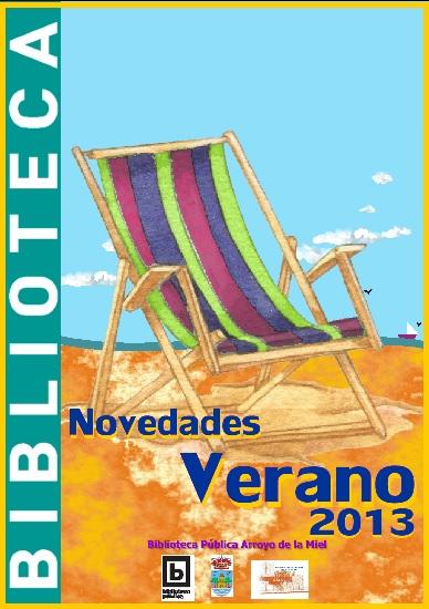 NOVEDADES DE VERANO EN LA BIBLIOTECA ARROYO DE LA MIEL