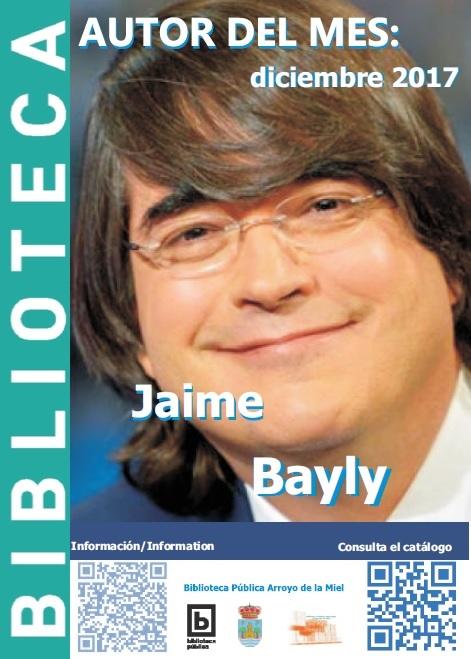 JAIME BAYLY. AUTOR DEL MES DE DICIEMBRE