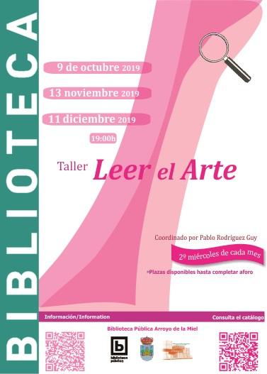 LEER EL ARTE. TALLER DE ARTE