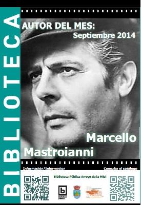 AUTOR DEL MES DE SEPTIEMBRE: MARCELO MASTROIANNI
