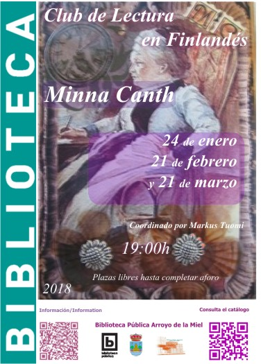 MINNA CANTH. CLUB DE LECTURA.