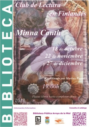 MINNA CANTH. CLUB DE LECTURA