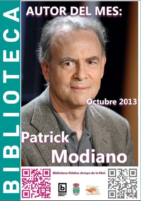 AUTOR DEL MES DE OCTUBRE: PATRICK MODIANO