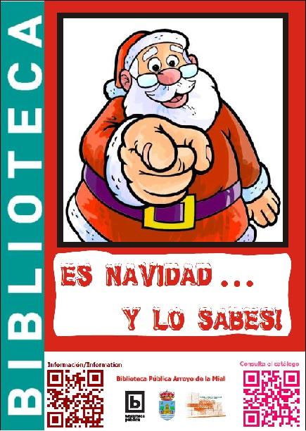 NOVEDADES DE NAVIDAD. BIBLIOTECA ARROYO DE LA MIEL