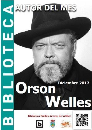AUTOR DEL MES DE DICIEMBRE: ORSON WELLES