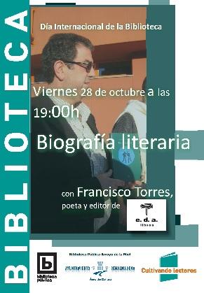 BIOGRAFIA LITERARIA con FRANCISCO TORRES