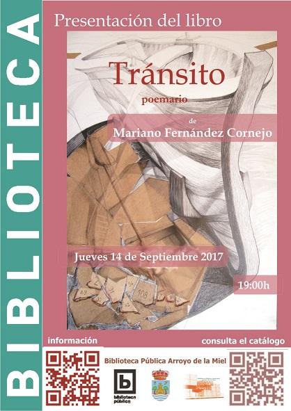 PRESENTACIÓN DEL LIBRO 'TRÁNSITO'