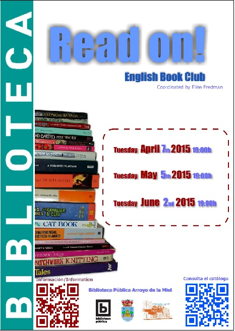READ ON! CLUB DE LECTURA EN INGLÉS