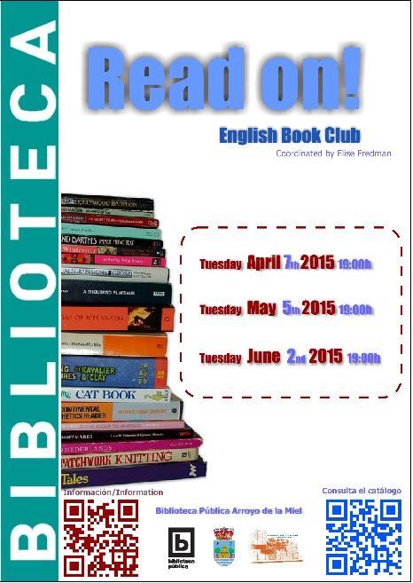 READ ON! CLUB DE LECTURA EN INGLɉS
