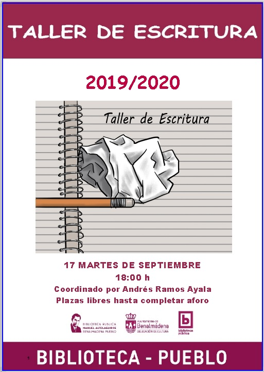 TALLER DE ESCRITURA