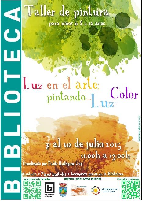 TALLER INFANTIL 'LA LUZ EN EL ARTE: PINTANDO CON LUZ Y COLOR'