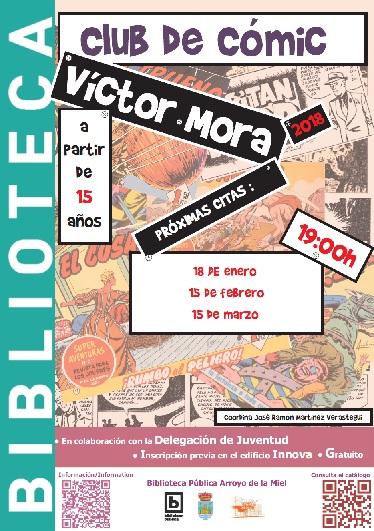 VÍCTOR MORA. CLUB DE LECTURA