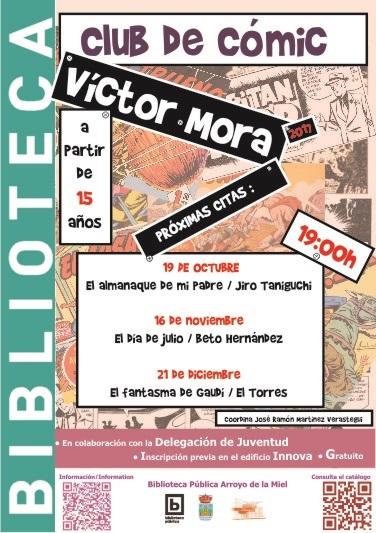 VICTOR MORA. CLUB DE LECTURA