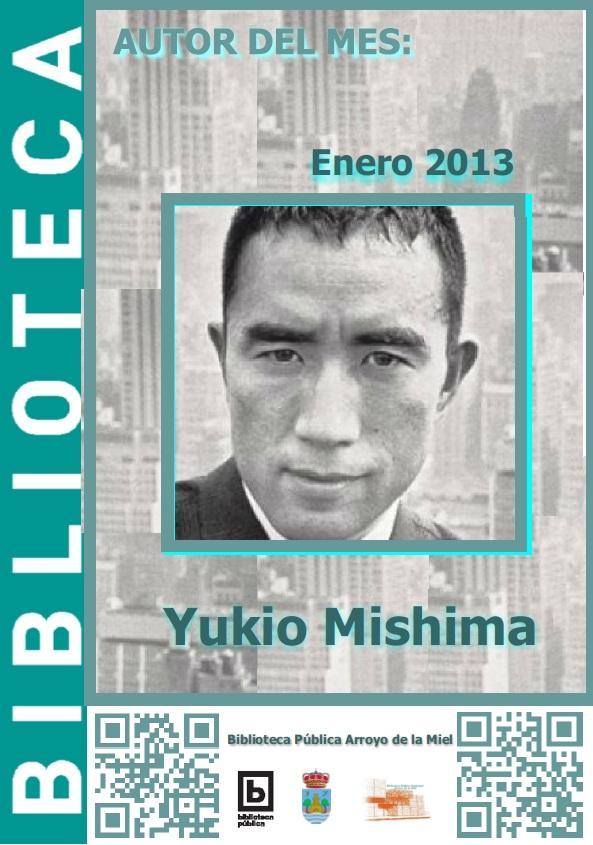 AUTOR DEL MES DE ENERO: YUKIO MISHIMA