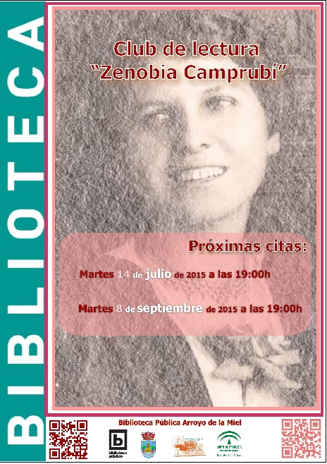 'ZENOBIA CAMPRUBÍ'. CLUB DE LECTURA-