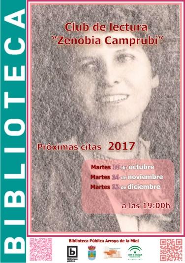 ZENOBIA CAMPRUBÍ. CLUB DE LECTURA