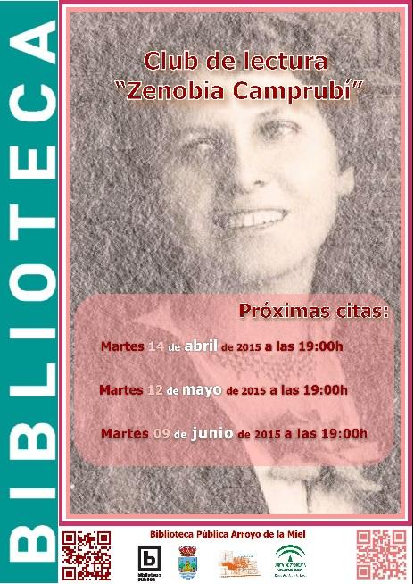 ZENOBÍA CAMPRUBÍ, CLUB DE LECTURA