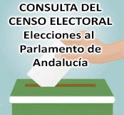 Consulta Censo Electoral Elecciones al Parlamento de Andalucía 2018