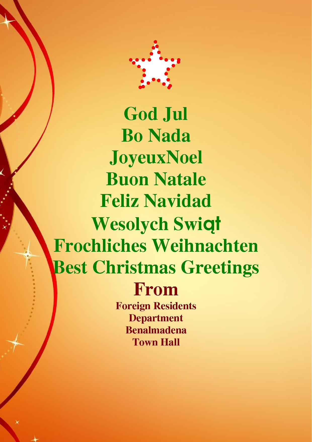 Best Christmas Greetings
