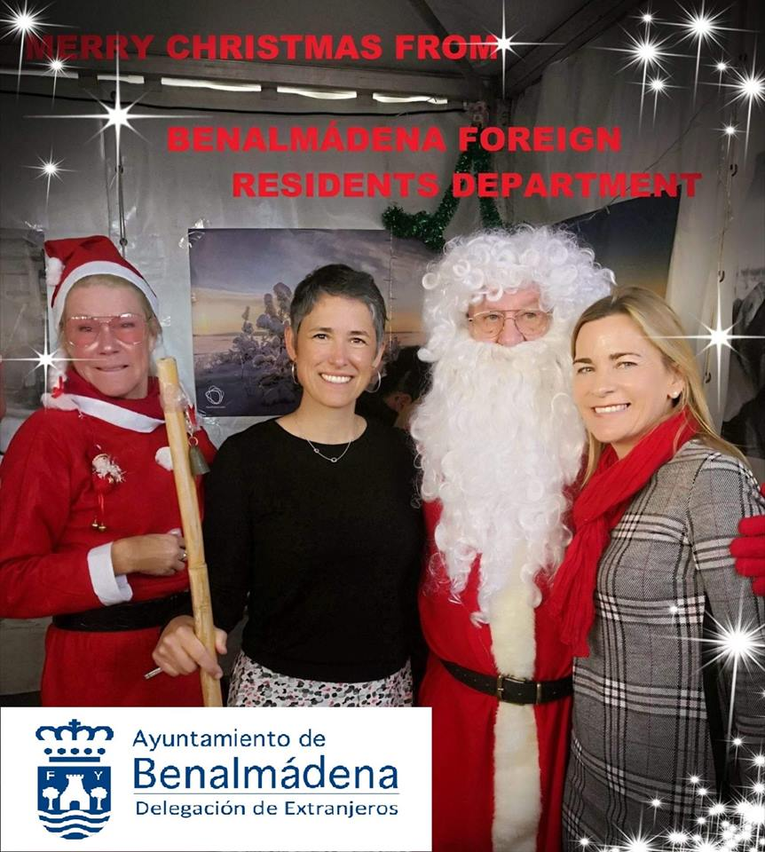 MARRY CHRISTMAS FROM THE FOREIGN RESIDENTS DEPARTMENT