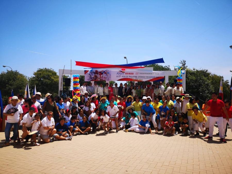CELEBRATION OF THE NATIONAL DAY OF THE PHILIPPINES IN BENALMADENA