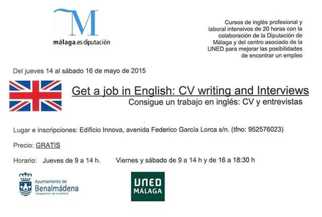 El Parque Innova acogerá en mayo dos cursos intensivos de inglés profesional y laboral