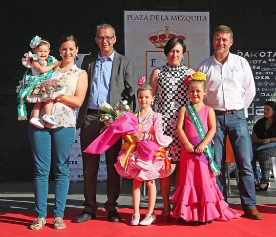 Francisco Salido y Concepción Tejada encargados de coronar a las Reinas de la Feria San Juan 2014
