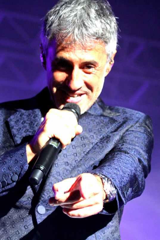 Sergio Dalma ilumina el Puerto con su musica
