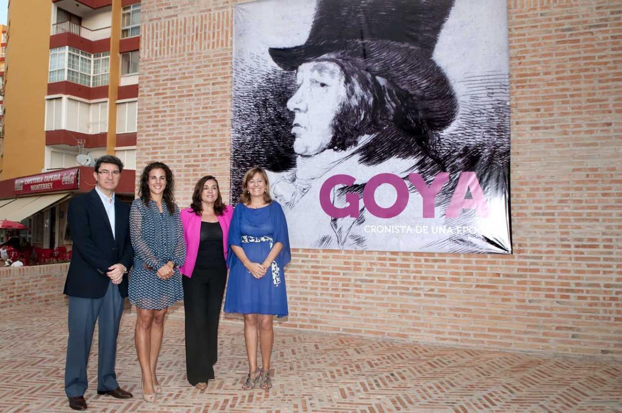 El Centro de Exposiciones inaugura su nueva muestra, 'Goya, cronista de una época'