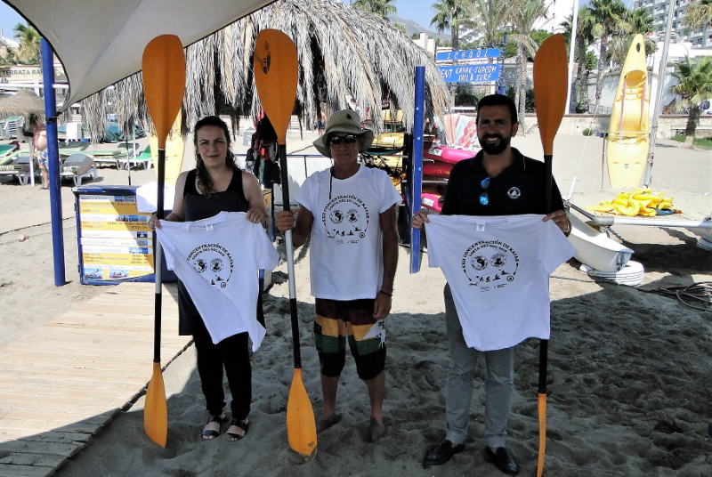La Playa de Fuente de la Salud acogerá el sábado 25 la concentración de kayaks de La Costa Del Sol.