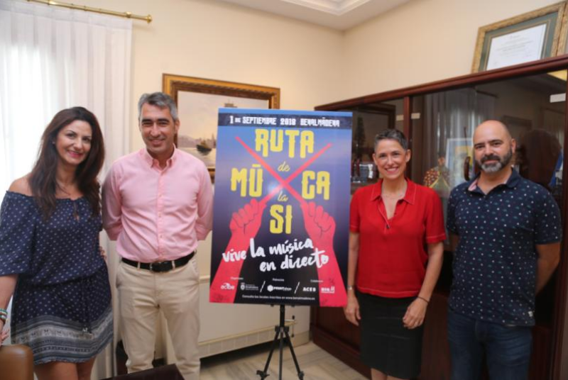 Bares y comercios del municipio se convertirán el sábado 1 en salas de conciertos en 'La I Ruta de la Música de Benalmádena'