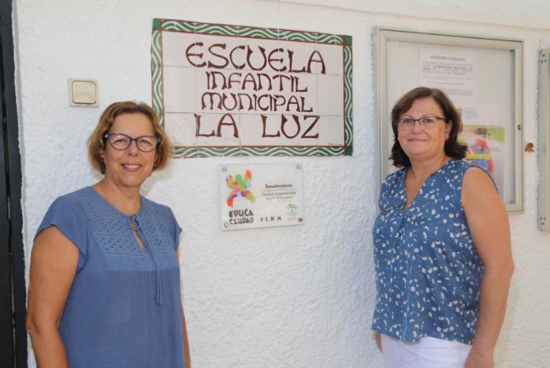 Las escuelas infantiles del municipio empiezan el curso el 3 de septiembre tras la realización de diversas actuaciones de mejoras.